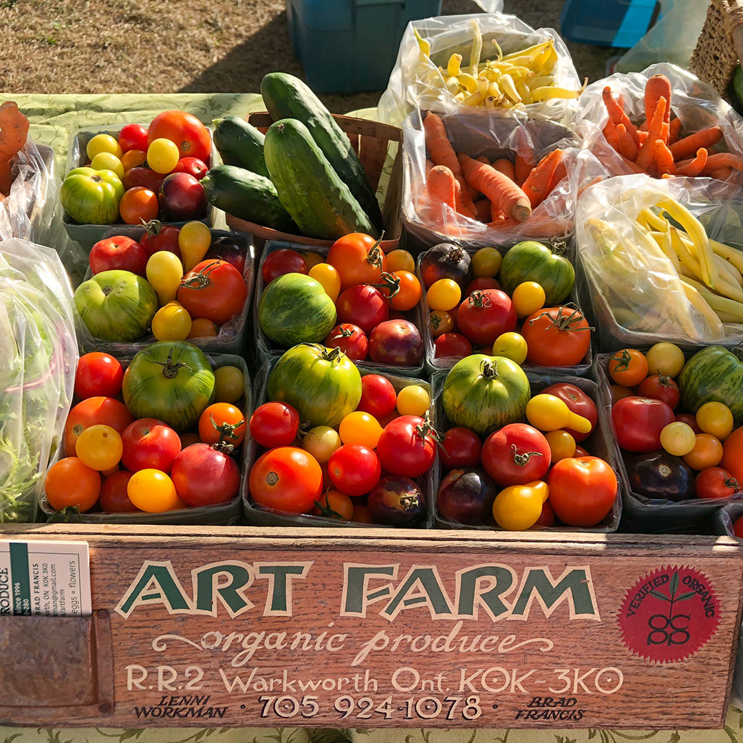 Art Farm organic produce