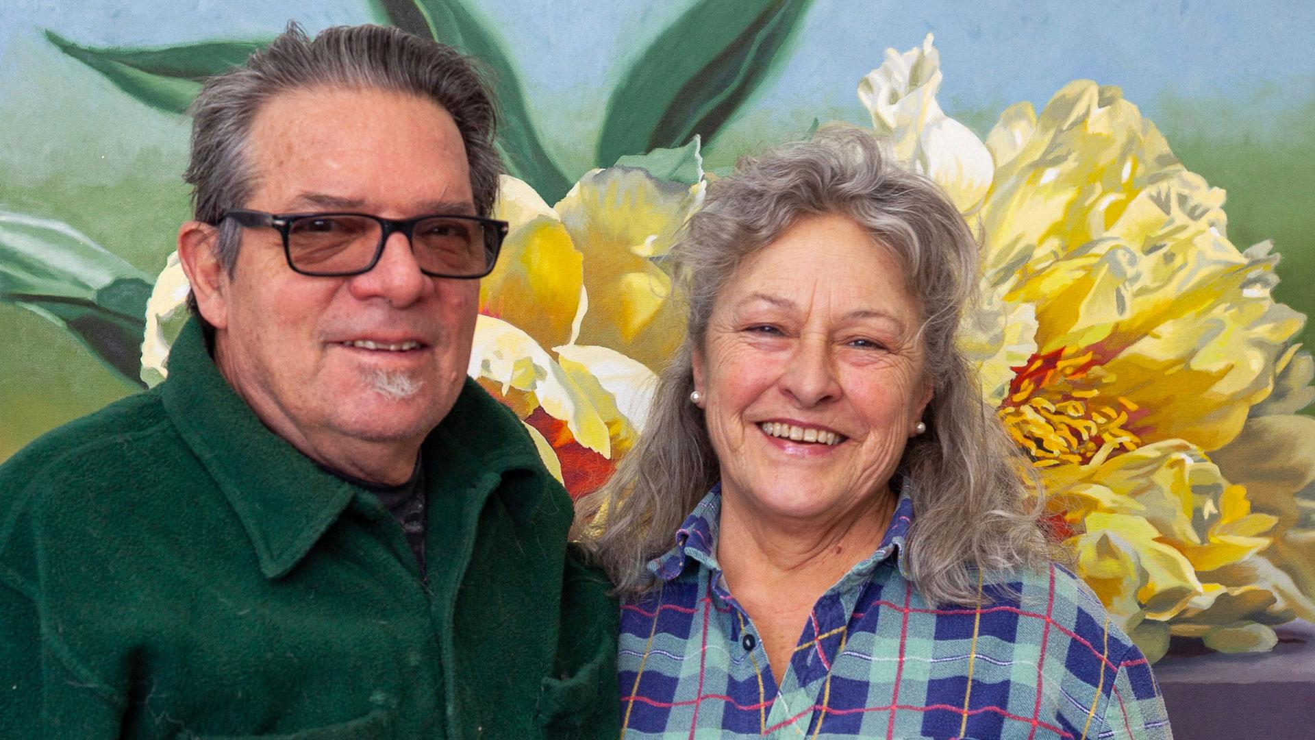 Lenni- Workman and Brad Francis of Art Farm Produce